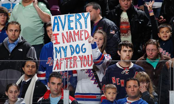 Fan Sign...