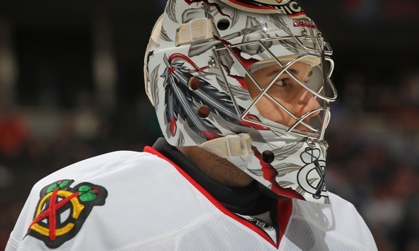 corey crawford 2009. backup Corey Crawford was