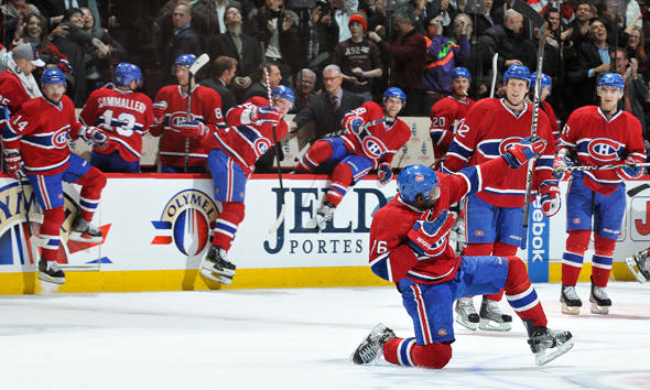 Double Standard? ...On P.K. Subban And Goal Celebrations