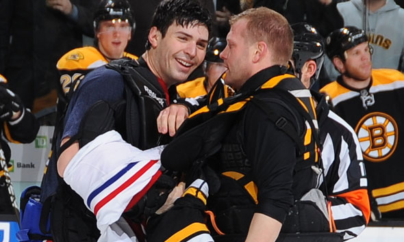 The Fight Night In Boston, And Other Bloody Habs/Bruins Moments (video)
