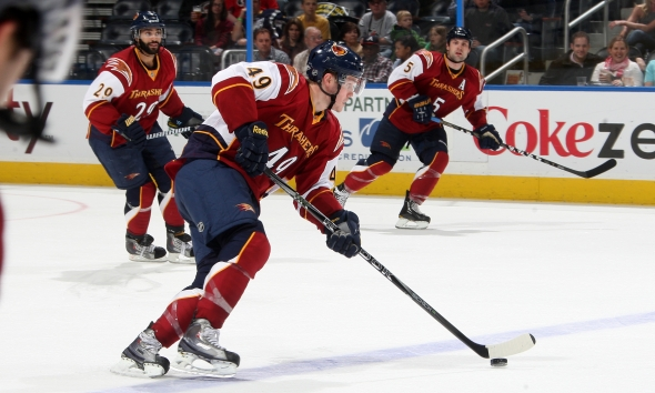 The Atlanta Thrashers: A Look Back At Their Awful, Awful Uniforms