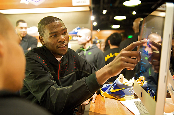 kevin durant. All-Star Kevin Durant in