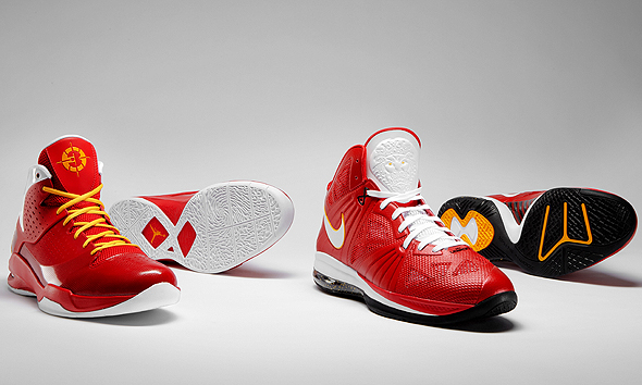 lebron shoes. Wade, LeBron debut new shoes